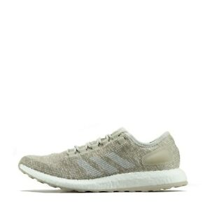 adidas Pure Boost Clima Men's Running Trainers Shoes Clear Brown