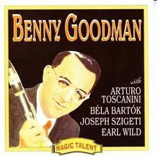 Benny Goodman Klarinettenkonzert (Arturo Toscanina, Joseph Szigeti) 1996 CD