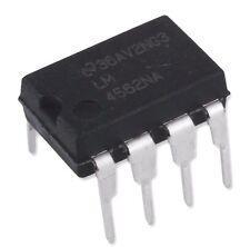 4PCS National Semiconductor LM4562NA LM4562 4562 Dual OpAmp DIP-8 - New IC