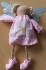 Engel #12 aus Stoff mit Metallflügel ca. 15cm