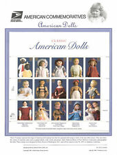 #518 32c Classic Dolls MS15 #3151 USPS Commemorative Stamp Panel