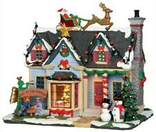 Lemax Christmas BEST DECORATED HOUSE #25337 • RETIRED • NEW IN BOX