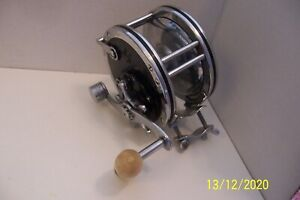 PENN FISH REEL 1950-60 No 49 SUPER MARINER PA EX CON THIS REEL WAS NEVER FISHED