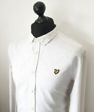 Men's LYLE & SCOTT Premium Vintage Dot Patterned Shirt Size *SLIM* XL *VGC*