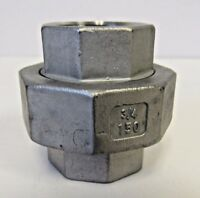 """New ¾"""" FNPT Union 304 Stainless Steel Class 150"""