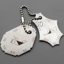 Welding Gauge Two -piece Inspection Measure Gage Stainless Steel 2 Years Warrant