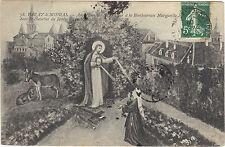 71 - cpa - PARAY LE MONIAL - Apparition du Sacré Coeur à Marguerite Marie