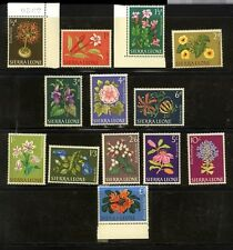 Sierra Leone Scott 227-39 Flowers Mint NH set