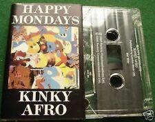 Happy Mondays Kinky Afro Cassette Tape Single - TESTED