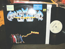 GRANDMASTER FLASH BA-DOP-BOOM-BANG LP Elektra 1987 PROMO NM rap hip hop rare!!