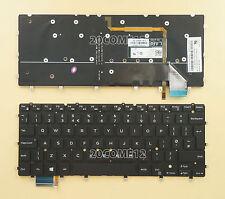 NEW FOR DELL Inspiron 7547 7548 7347 7348 Keyboard Backlit UK No Frame