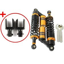 1Pair 320mm Motorcycle Scooter Rear Air Shock Absorber Suspension Sping Damper