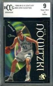 Dirk Nowitzki Beckett BCCG 9 1998 99 E-X Century Rookie