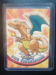 Charizard #06 1999 Topps TV Animation Pokemon Card