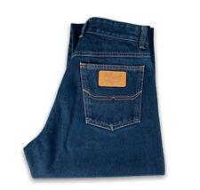RM Williams Womens Jeans Straight Leg Dark Denim TJ422 Size 12 Made in Australia
