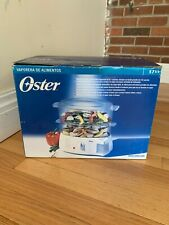 New Oster Food Steamer Two-Tiered Food Steamer Rice Cooker Vegetable White 5711
