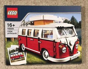 Brand New Sealed   EXCLUSIVE Lego 10220 Volkswagen (VW) T1 Camper Van