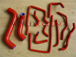 Red Silicone Hose Kit for Subaru Impreza WRX/STi GDA/GDB EJ207 02-07 05 06