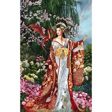 SUNSOUT JIGSAW PUZZLE QUEEN OF SILK NENE THOMAS FANTASY 1000 PCS #67648