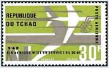 Timbre Aviation Tchad PA29 ** lot 24968