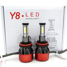 H11 660W 66000LM PHILIPS LED Headlight Kit Low Beam Bulbs 6500K White High Power