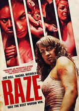 Raze (DVD, 2014) Zoe Bell, Rachel Nichols Women fight to death  BRAND NEW