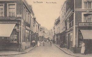 Ansichtskarte Frankreich La Bassee Rue de Mizelle