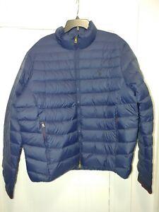 Polo Ralph Lauren Mens Jacket navy Blue Size 2xl xxl Packable Puffer $228   coat