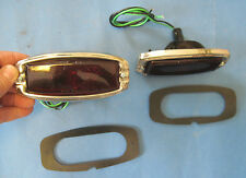New Pair of 1941 1942 1946 1947 1948 Chevrolet tail light assemblies with gasket