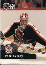 1991-92 PRO SET # 394 ENGLISH VERSION PATRICK ROY !!