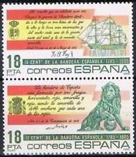 Spanje postfris 1985 MNH 2674-2675 - Spaanse Vlag 200 Jaar