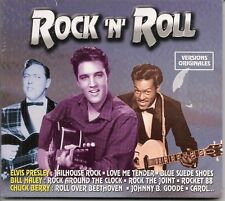 CD DIGIPACK COMPIL 20 TITRES--ROCK 'N' ROLL--PRESLEY/HALEY/BERRY/VINCENT--NEUF