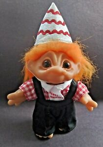 Dam Troll 1984 Happy Birthday 6 inch Figure With Hat