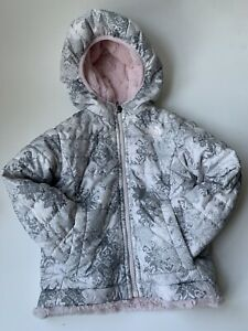 The North Face Reversible Hooded Jacket Toddler Girls Size 2T