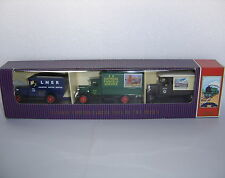 Lledo Set: Limited Edition : RAILWAY EXPRESS PARCEL VANS OF THE 1930's : RSL3003