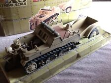 HUGE 21c/ULTIMATE SOLDIER 1/6 KETTENKRAD & TRAILER.800mm LONG.NEW.