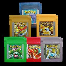 7 Color Version Game Card for Nintendo Pokemon GBC Gameboy Magic Wizard Pikachu