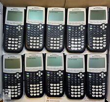 Texas Instruments Ti-84 Plus Graphing Calculator Great Condition - Lot of 10