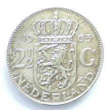 2½ Gulden, Silber, 1963, Niederlande (10_51)**