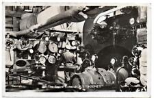 HMS RODNEY Engine Room Royal Navy Ship Photo  Postcard