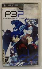 Shin Megami Tensei: Persona 3 Portable (Sony PSP, 2010) Tested Works!