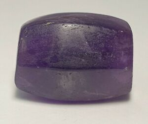 ANCIENT RARE SOUTH EAST ASIAN FACETED AMETHYST BEAD