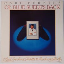 CARL PERKINS: Ol' Blue Suede's Back JET UK Vinyl LP Rockabilly NM-