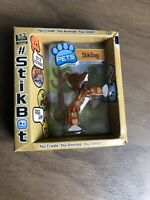 Stikbot Pets StikDog Brown New Sealed
