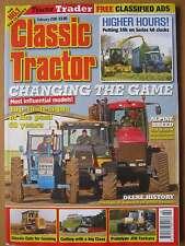 Classic Tractor February 2016 JCB Fastrac John Deere 6000 Series Top 10 Tractors