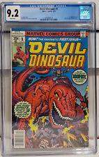 Devil Dinosaur #1 (1978, Marvel) CGC 9.2 NM- 1st App Devil Dinosaur & Moon-Boy