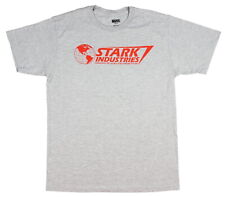 Marvel Iron Man Stark Industries Changing The World Men's T- Shirt New