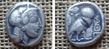 Athena-Owl 430-450 BC 10,95 gr. 22 mm.SILVER