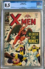 X-Men #27 (1966) CGC 8.5 -- Mimic joins; Spider-Man, Scarlet Witch & Quicksilver