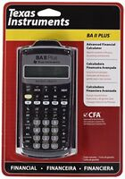BRAND NEW GENUINE Texas Instruments BA-II Plus Scientific Calculator